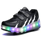 Ufatansy LED Fashion Sneakers Kids Girls Boys Light Up...