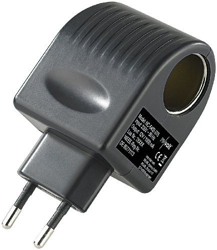revolt 12V Adapter: Mini-Spannungswandler, 230/12 V, 1.000 mA, 12 Watt, Steckversion (12 Volt Adapter)