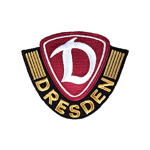 SG Dynamo Dresden Aufnäher Logo farbig