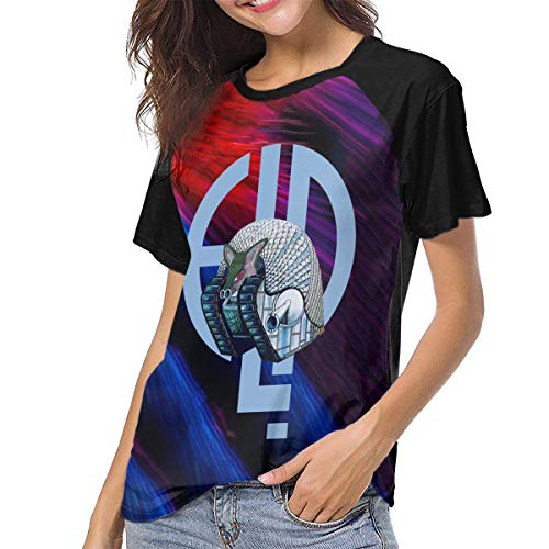 Actuallyhome T-Shirt de Baseball à Manches Courtes pour Femmes Emerson-Lake & Palmer T-Shirts décontractés imprimés pour Hommes