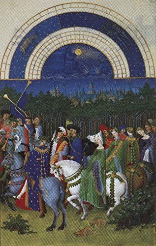 148 Paul Jean van Limburg in mei 1410 - Film Film Poster - Beste Print Kunst Reproductie Kwaliteit Wanddecoratie Gift Canvas A3