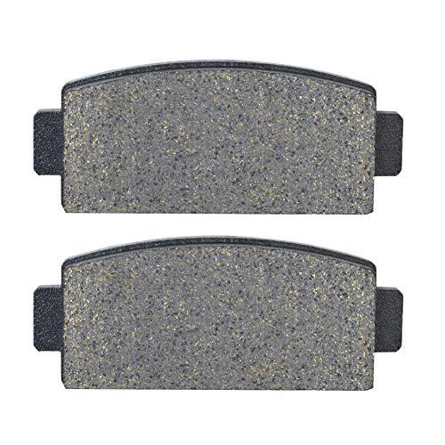 AHL 1 Paar Hinten (links) und hinten (rechts) Bremsbeläge für CF MOTO CF 600 Z -Force Z6 / Z6-EX (Side x Side) 2013-2015