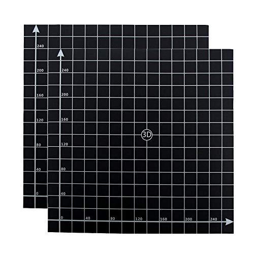 Furiga Impresora 3D Superficie de construcción 300x300 mm para CR10 CR10S Anet E12 Placa de construcción Plataforma Accesorios