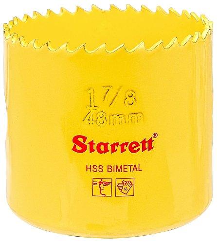Starrett 48 mm Lochsäge mit konstanter Zahnteilung, 6 Zähne / Zoll SH0178