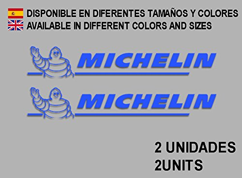 Ecoshirt JL-W03S-WRJD Aufkleber Stickers Puppe Michelines F24 Aufkleber Decals Autocollants Adesivi, Blau