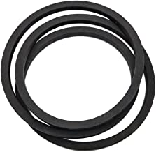 Kuumai Replacement Lawn Mower Tractor Traction Drive V Belt Fits Cub Cadet/Massey Ferguson/MTD 754-0461 954-046