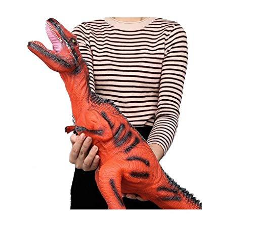 ML Dinosaurio Enorme con Sonido Aterrador Realista World Jurassic Park Juguetes para niña / niño y de Regalo un Huevo mágico Dino de eclosion incubación Crecimiento Dragon