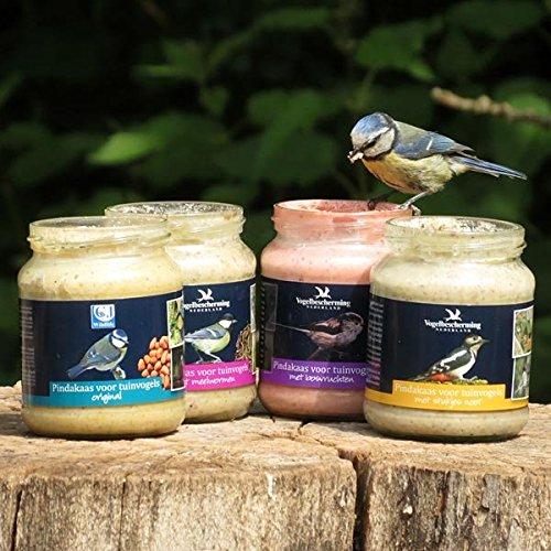 C.J Wildlife Erdnussbutter für Gartenvögel - Set (4 x 330g)