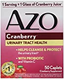 AZO Cranberry Supplement Tablets For A Healthy Urinary Tract - 50 Ea