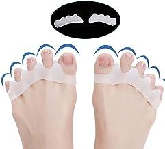 2Pcs/Set Gel Silicone Bunion Corrector Toe Separators Straightener Spreader Foot Care Tool Hallux Valgus Pro Massager