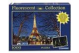 Clementoni Puzle fluorescente, diseño de Torre Eiffel y París