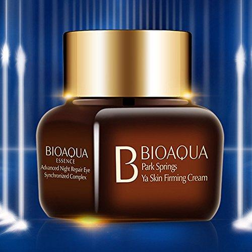 BIOAQUA Night Repair Delicate Skin Around Eyes Crystal Firming Tightening Cream Nourishing Moisturizing Brilliance