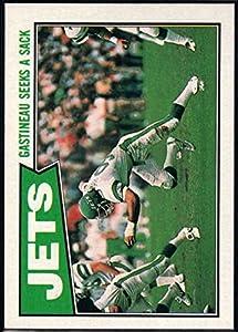 Football NFL 1987 Topps #126 Mark Gastineau TL NM-MT+ NY Jets