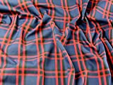 Plaid kariert Polyester & Viskose Tartan passend Kleid