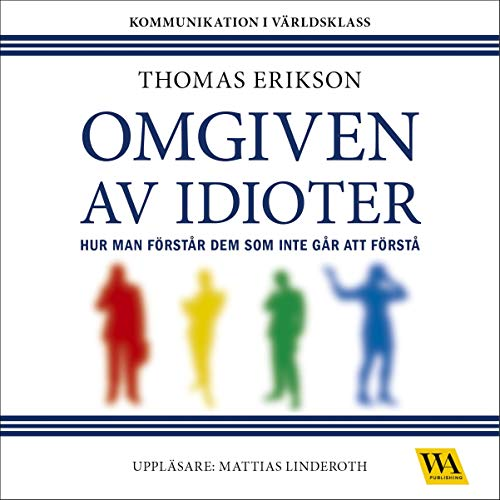 Omgiven av idioter audiobook cover art