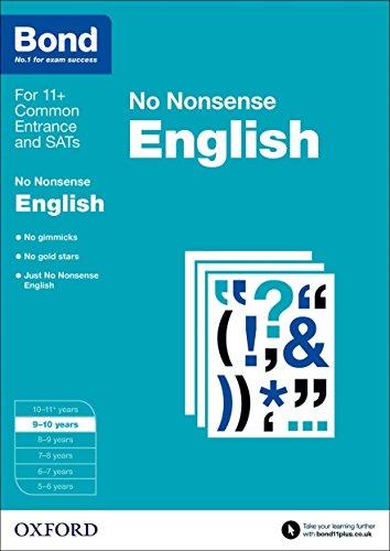 Bond: English: No Nonsense: 9-10 years