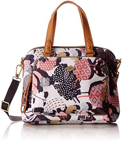 Oilily Damen S Handbag Henkeltasche, Grau (Charcoal), 10x20x26 cm