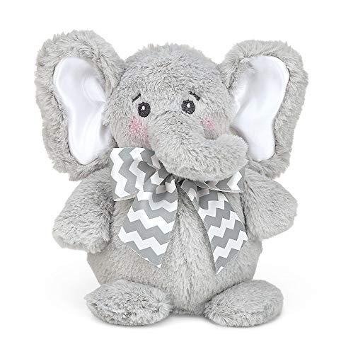 """Bearington Baby Tiny Plush Stuffed Animal Elephant 6"""""""