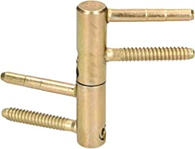 KOTARBAU Inboorband 14/16 / 20 mm messing universele deurscharnier huisdeurband robuust kozijnenband voerdeur hoge draagkr...
