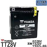 台湾ユアサ GTZ8V互換バッテリー