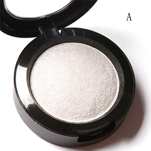 Coloré(TM) Palettes de maquillage Paillettes Poudre Ombre Eye Shadow Diamond Maquillage Perle Métallisé palette de Fard à paupières (A)