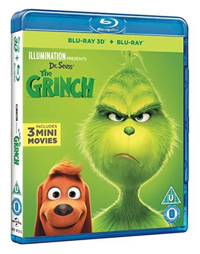 The Grinch (3D + Blu-ray) [2018] [Region Free]