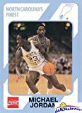 Michael Jordan 1989 North Carolina Tar Heels Collegiate Collection #17 College ROOKIE Card in Mint Condition ! Shipped in Ultra Pro Top Loader to Protect it !