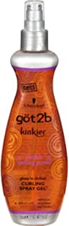 got2b Kinkier Double Curling Power Amplify Curling Spray Gel 9 oz