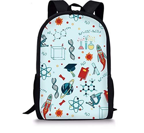 Schultaschen Für Mädchen Jungen Daypack Kids Book Bags Wasserdichter Rucksack Schulrucksack Rakete Und Globus