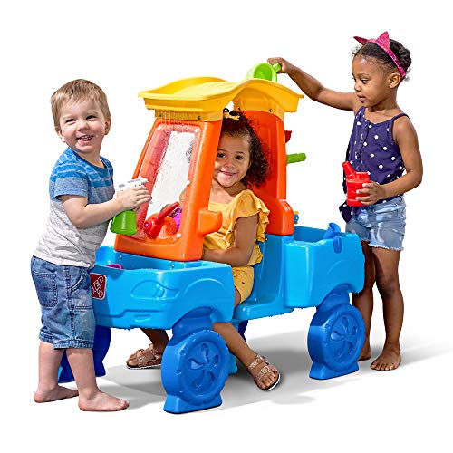 Step2 Car Wash Splash Center | Kids Outdoor Water Table Toy