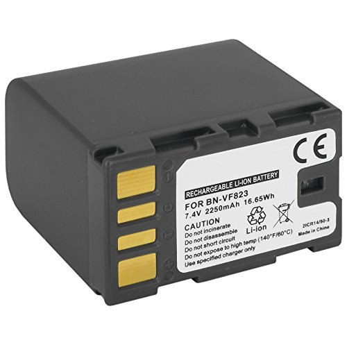 Blumax/® bn-vg121/VG121/sostituzione batteria da 2700/mAh 3.6/V per JVC gz-hd gz-hm Everio gz-mg gz-ms gz-e EX e gz-gx serie
