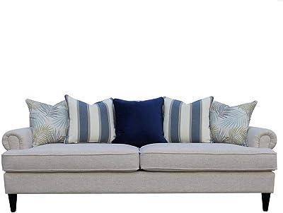 Danube Home Felix 3 Seater Fabric Sofa - Beige