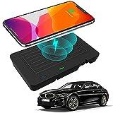 Braveking1 Compatible con BMW 3 Series G20 2019-2021 4 Series G22 2020 2021 Cargador Inalámbrico Coche Panel de Accesorios de la Consola Central 10W Carga Rápida Teléfono Cargador para iPhone Samsung
