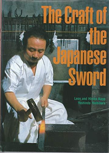 英文版 現代作刀の技術 - The Craft of the Japanese Sword