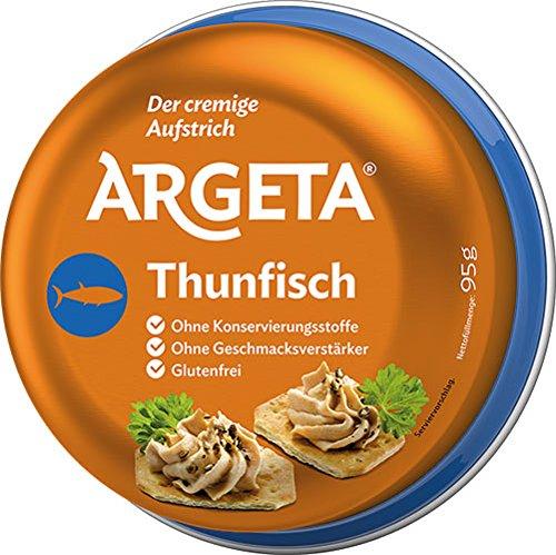 12x Argeta - Thunfisch, Aufstrich - 95g