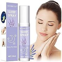 Spray De Almohada,Pillow Mist,Lavanda Orgánica,Spray de Aromaterapia de Lavanda,Profundamente relajante sueño & Pillow Spray, relajación, dormir, y habitación Spray