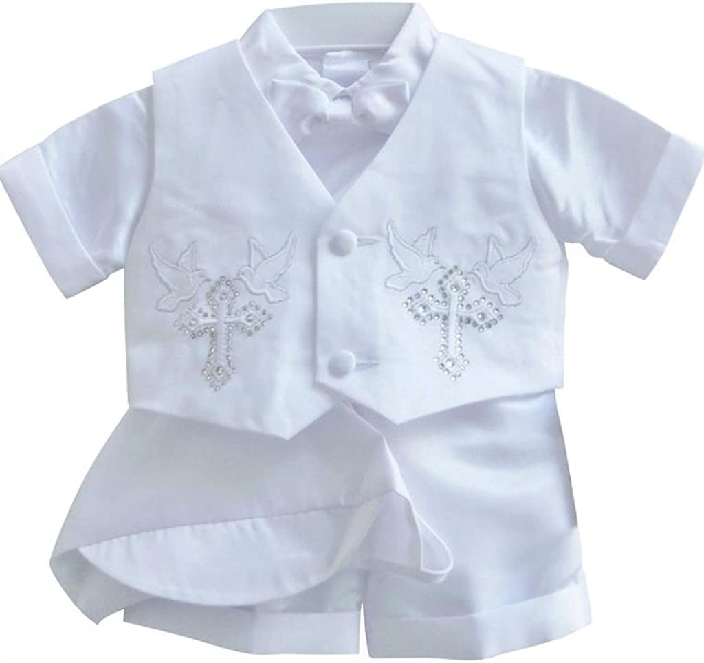 Classykidzshop White Boy B4 Outfit Baptism Weekly update Limited time sale