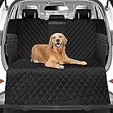 WOMGF Telo Auto per Cani Universale Protezione Portabagagli Copertura Bagagliaio Auto per Tutte Le Auto Coprisedile con Protezione Laterale