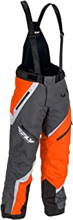 Fly Racing F19 SNX Pro Insulated Mens Snowmobile Pants - Gray/Orange - Large