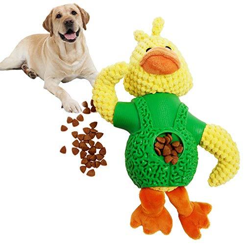 Hundespielzeug Intelligenzspielzeug, Sinicyder Schnüffelteppich Hundespielzeug Fördert Natürliche Nahrungssuche, Hund Riechen Trainieren, Sicher & Ungiftig Quietschende Spielzeug für Hund (Gelb)