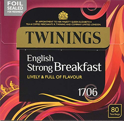 Twinings 1706 Strong Breakfast 80's Pack