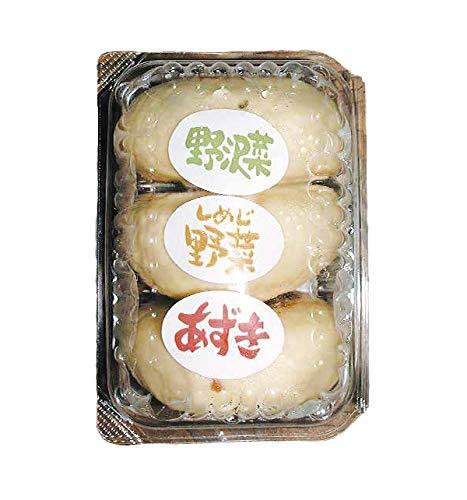 【クール配送】信州小川の庄縄文おやき おやきパック3個入(野沢菜、しめじ、あずき)