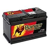 Banner 57044 Starting Bull 12V 70Ah 640A Autobatterie