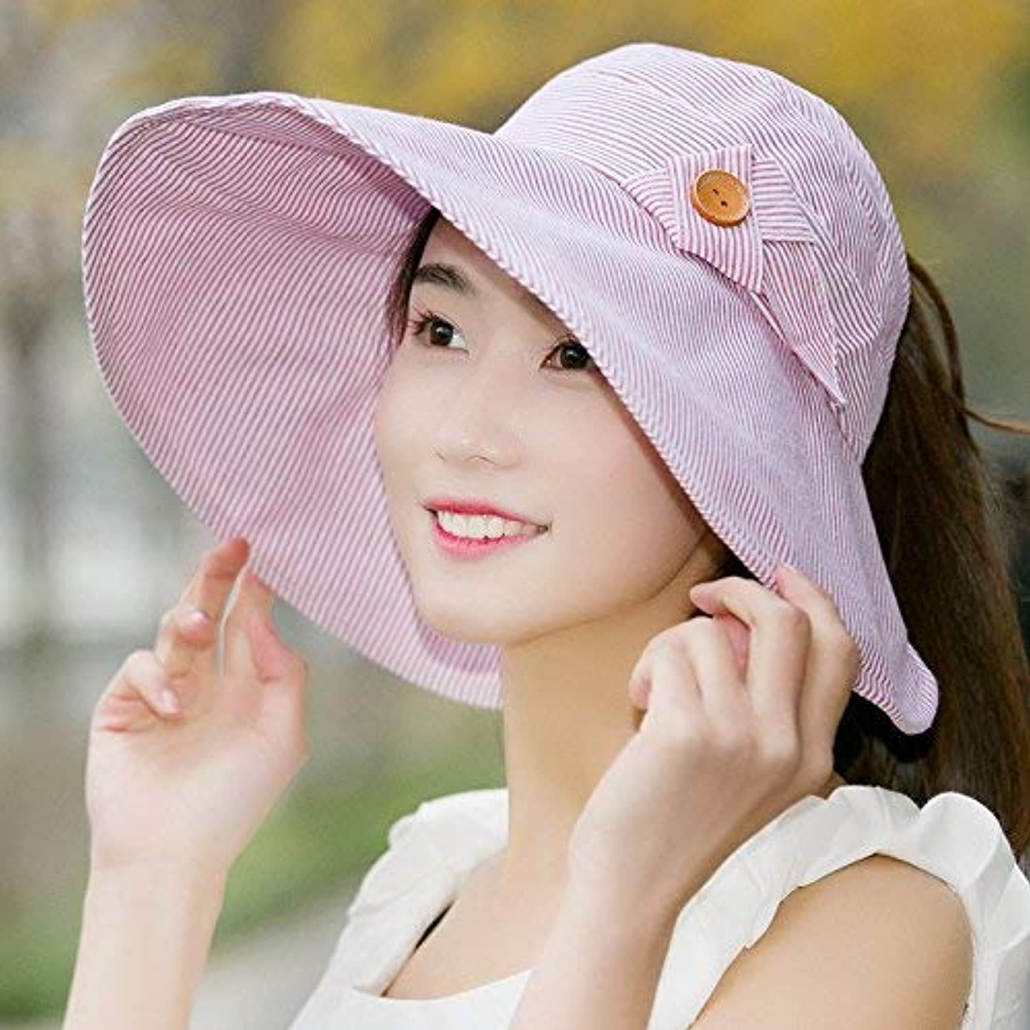 Dianye Hat female spring and summer travelpredection sun hat