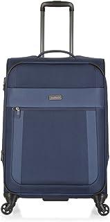 Antler 3905113016 Translite 4W Medium Roller Case Suitcases (Softside), Blue, 68 Cm