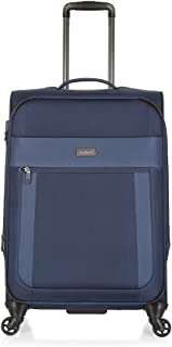 Antler 3905113016 Translite 4W Medium Roller Case Suitcases (Softside), Blue, 68 Cm