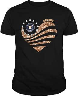 Houston Astros Heart Diamond shirt T-shirt, Unisex Hoodie, Sweatshirt For Mens Womens Ladies Kids