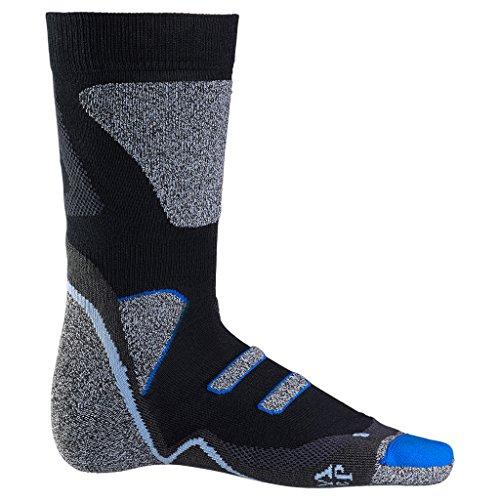 Jack Wolfskin Thermolite Cross Trail Sock, Mixte, Noir