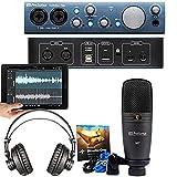PreSonus AudioBox iTwo Studio Kit completo di registrazione mobile...
