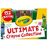 Product Image of the Crayola Ultimate Crayon Collection Coloring Set, Kids Indoor Activities At Home,...